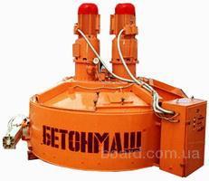 Бетоносмеситель планетарно-роторный СБ-2