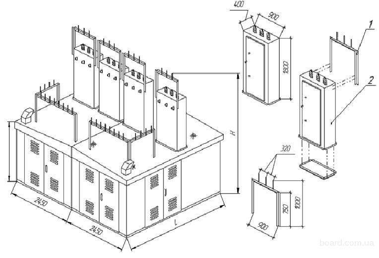 комплектная трансформаторная подстанция киоскового типа 400 ква цена