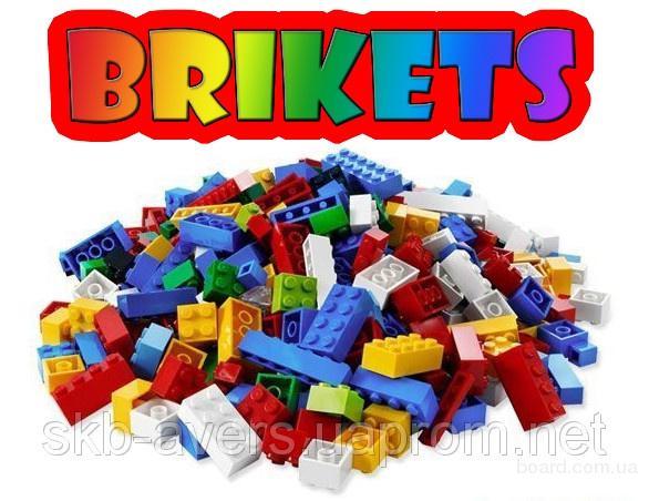 Детский конструктор Brikets (100% совместимость с Lego)