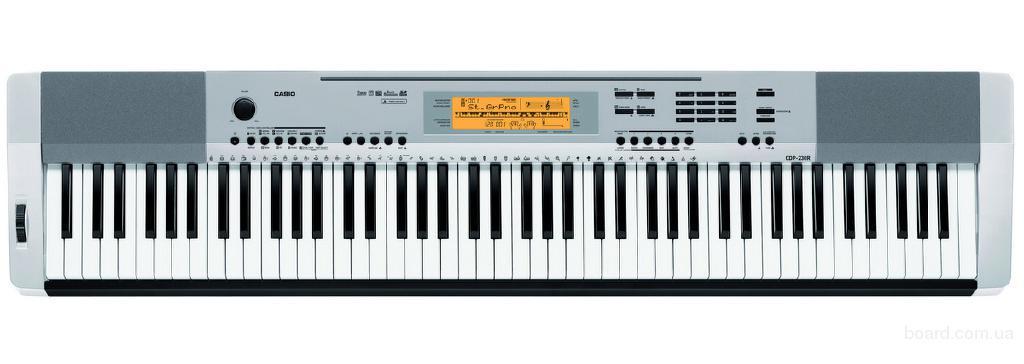 Компактное электропианино Casio CDP-230RSR для учебы в музыкальной школе