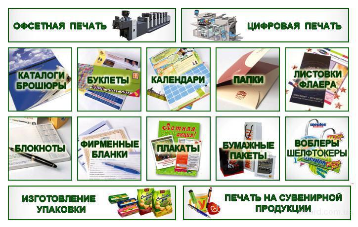 Типография в Киеве. Полиграфия. Печать каталогов.