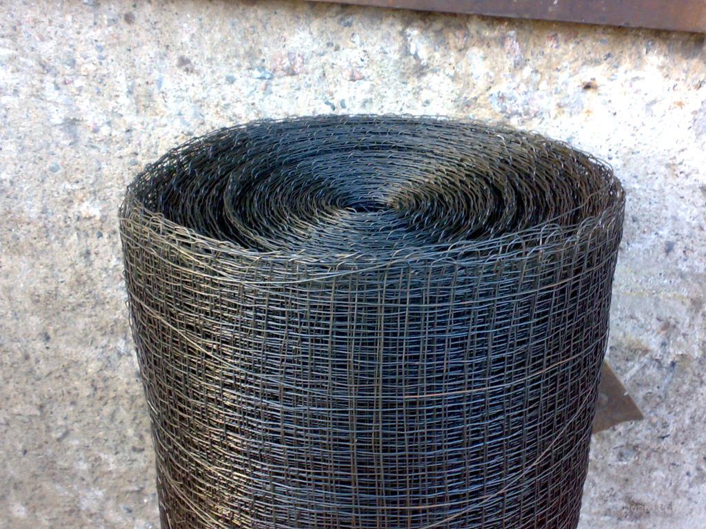 Куплю Сетка тканая штукатурная 12х12, 5х5, 10х20 из проволоки 0,7-2,0мм черная и оцинкованная, нержавейка
