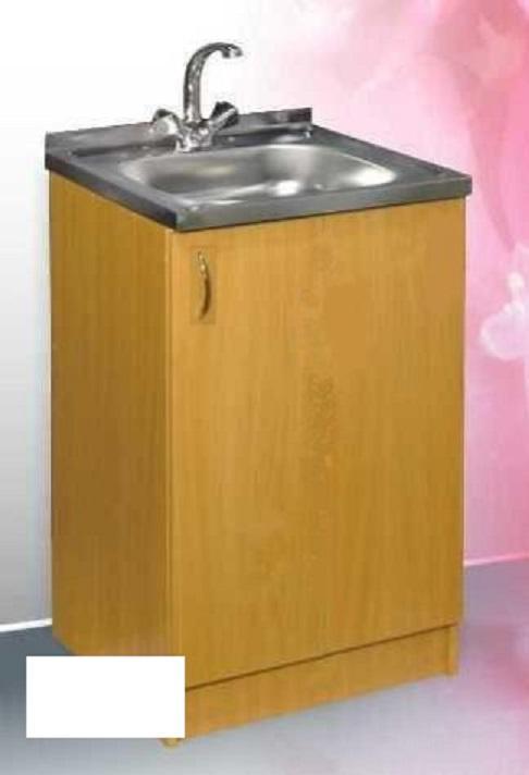 тумба+мойка+смеситель на кухню (500х500)