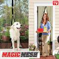 Антимоскітна магнітна сітка штори на двері Magic Mesh