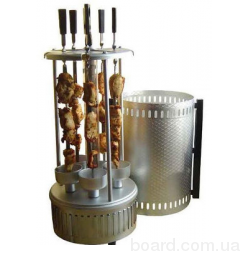 Електрошашличниця Kebabs Machine 6 forks, SW8805