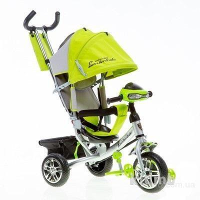 Детский велосипед Azimut  Lamborghini  с фарой, колеса пена (PU)