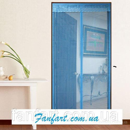 Антимоскитная сетка на дверь(на магнитах)