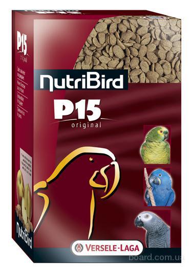 Корм для попугаев Versele-Laga NutriBird P15 Оригинал ежедевный с орехами