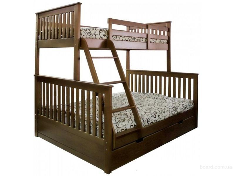 Двухъярусная кровать Олигарх