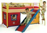 Продам бу кровать-домик с горкой CILEK Турция серия Playful Киев Не дорого