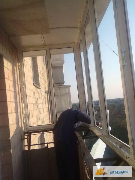 Обшивка балконов предлагаю в киев, украина. цена договорная .