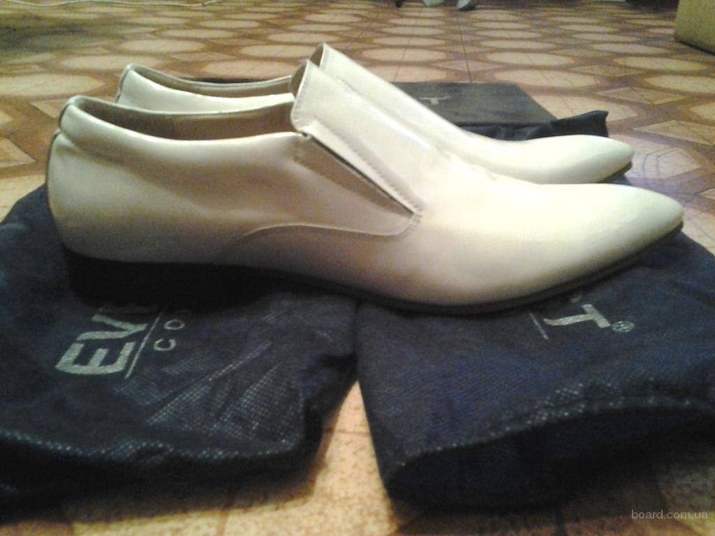 Kожаные мужские туфли