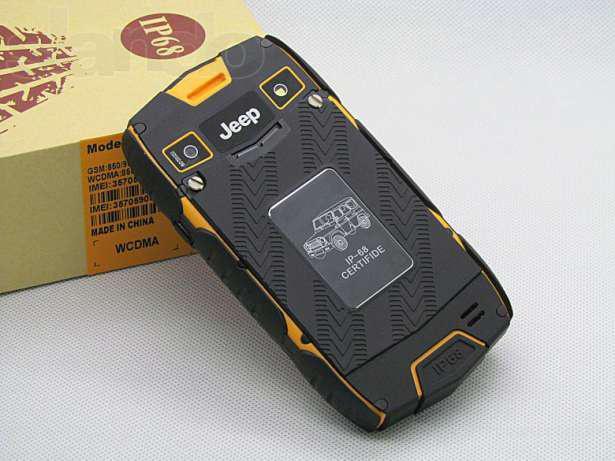 Водонепроницаемый смартфон Jeep Z6 гарантия 3 месяца