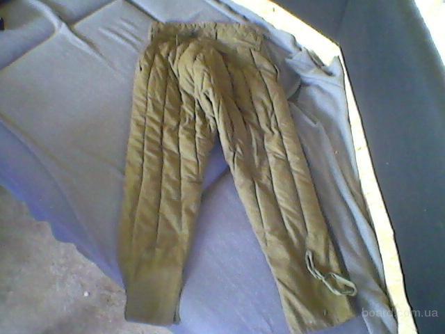 Штаны ватные (ватники) складское хранение также фуфайки. Оптом и в розницу.  280-350 гр