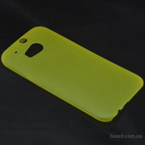 Ультратонкие 0.3мм чехлы HTC One M8 4 цвета!