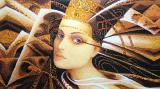 Янтарь: картины, иконы, портреты, пейзажи, натюрморты из янтаря – магазин янтаря «Арт-Бурштин»