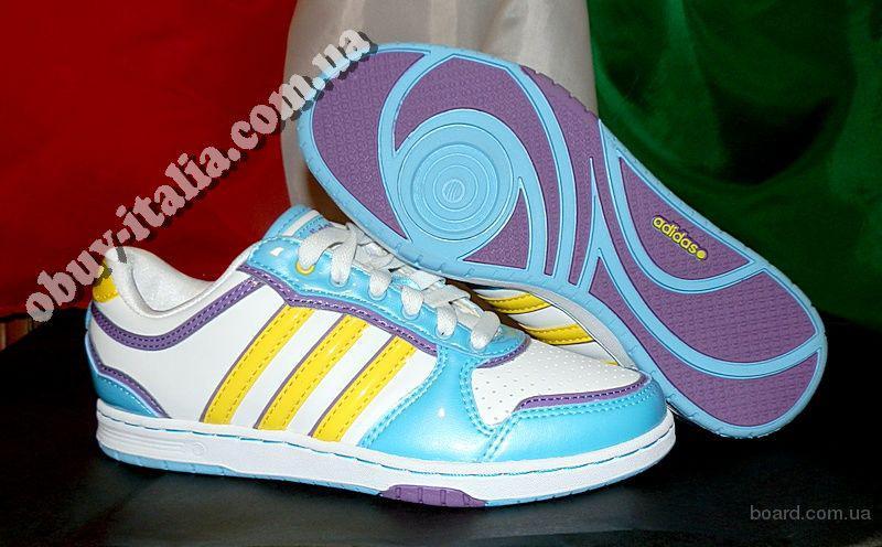 Кроссовки женские фирмы Adidas QT Slimcourt W Color п-о Вьетнам