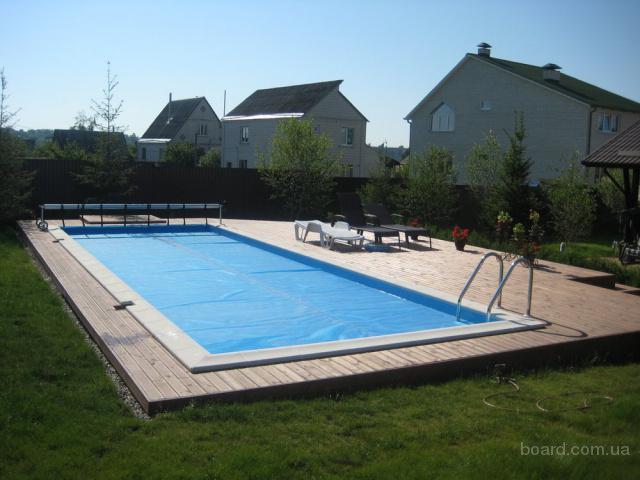 Летняя пленка на бассейн.