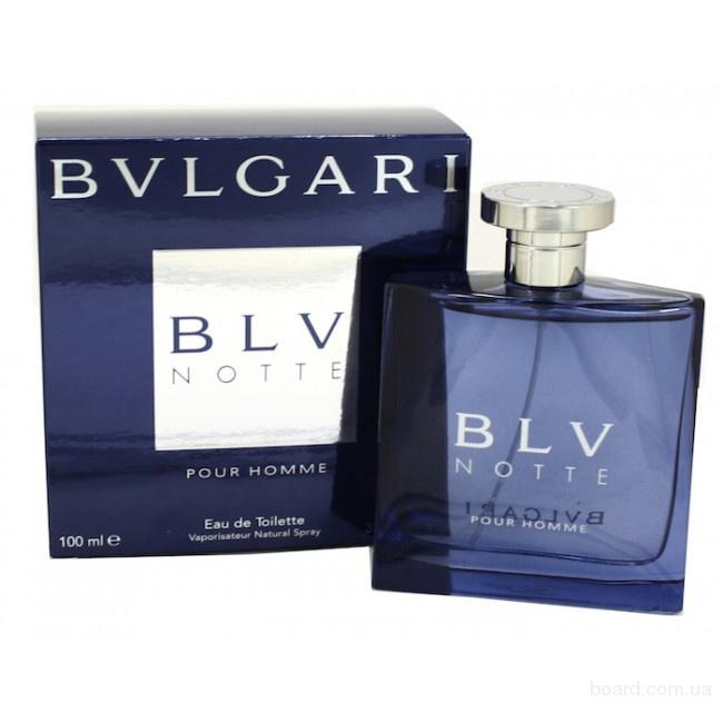 Bvlgari - BLV Notte Pour Homme (2004) - edt 100ml (tester) - раритет!