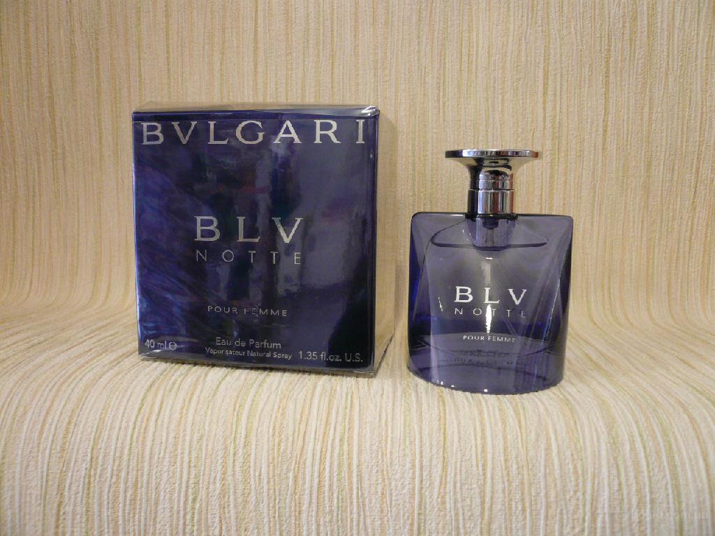 Bvlgari - BLV Notte (2004) - edp 75ml - Редкая Оригинальная Парфюмерия