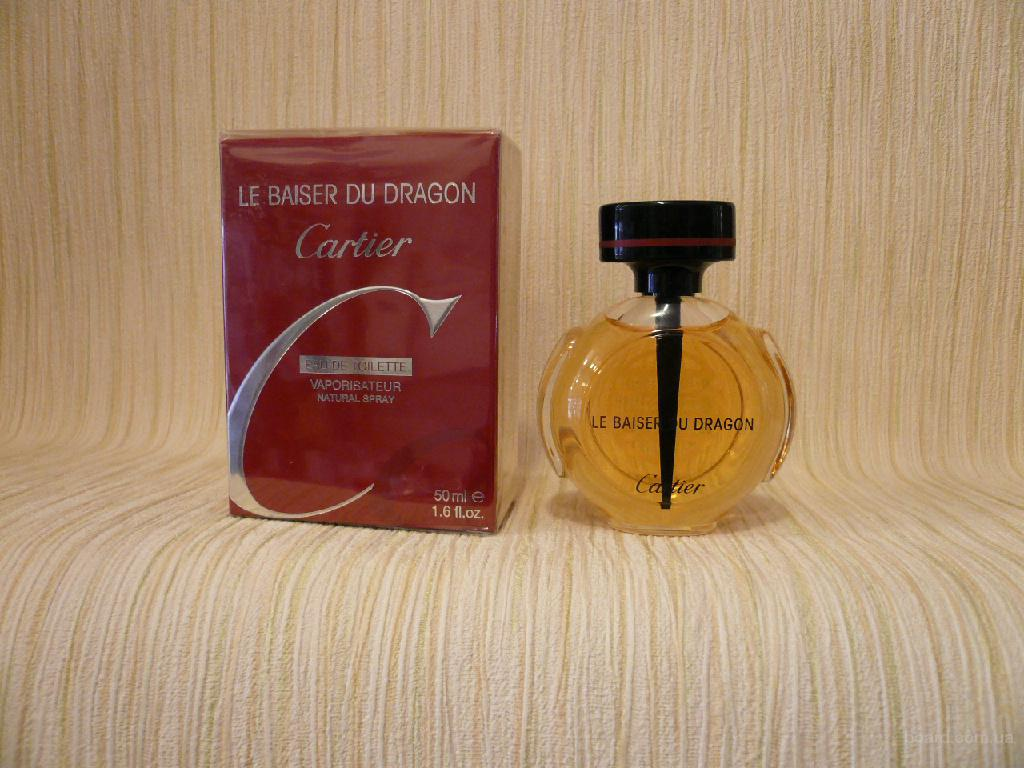 Cartier - Le Baiser Du Dragon (2003) - edt 50ml - оригинал