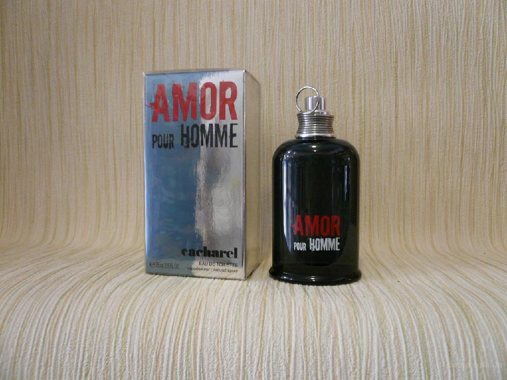Cacharel - Amour Pour Homme (2006) - edt 75 ml - Редкая Оригинальная Парфюмерия