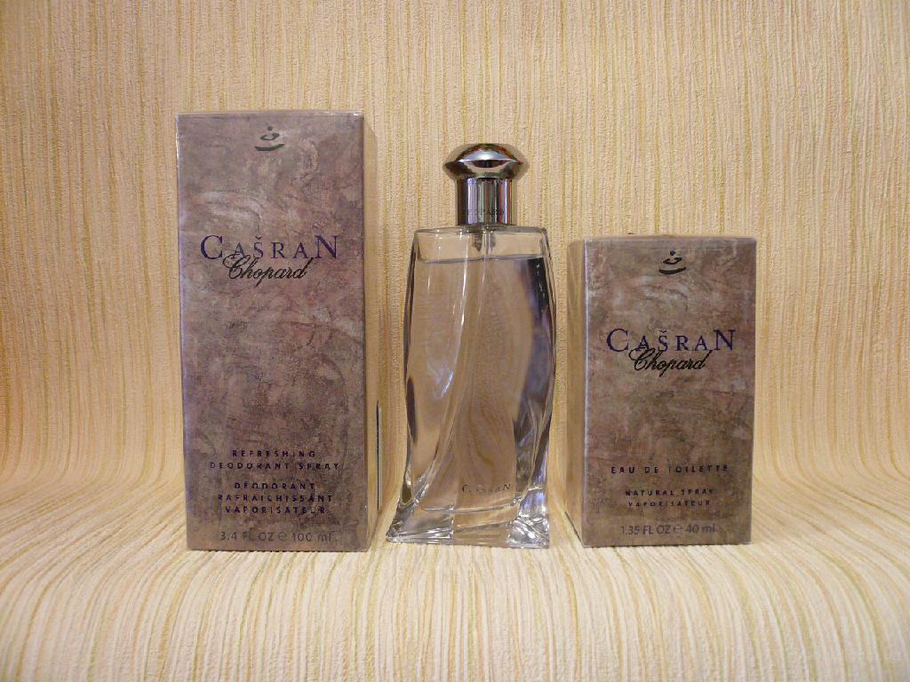Chopard - Casran (1999) - дезодорант 100ml (стеклянный флакон) - раритет!