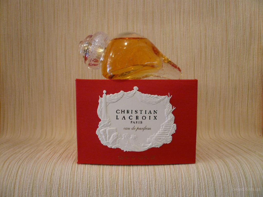 Christian Lacroix - Christian Lacroix (1999) - edp 75ml (tester) - редкий аромат
