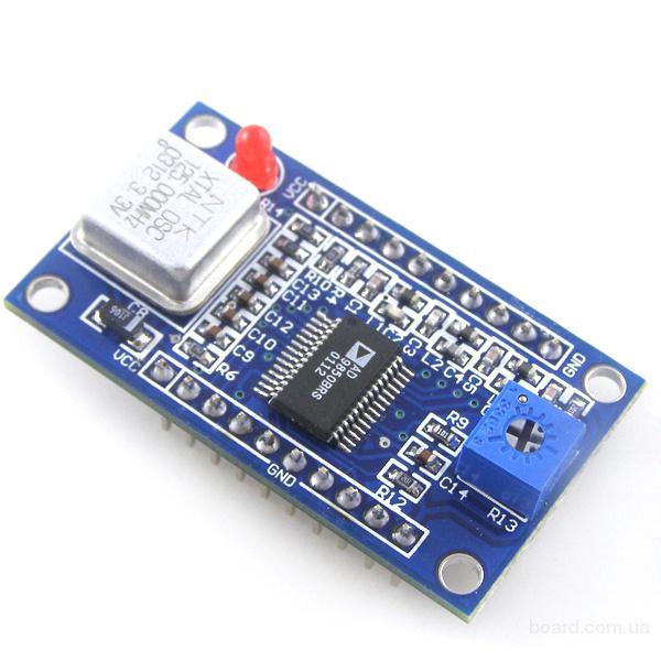 DDS генератор сигналов 0-40МГц для Arduino AVR PIC STM