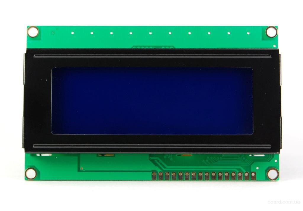 LCD дисплей 20х4 HD44780 для Arduino AVR PIC STM