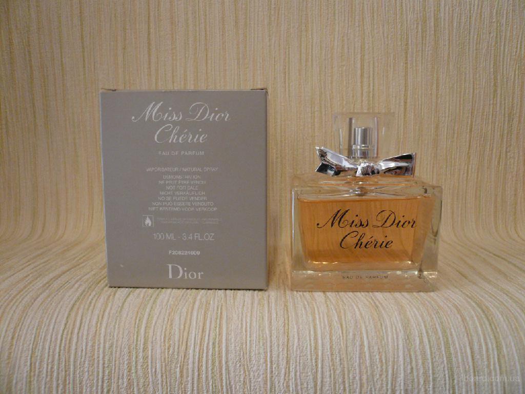 Dior - Miss Dior Cherie (2005) - edp 100ml (tester) - Редкая и Винтажная Парфюмерия
