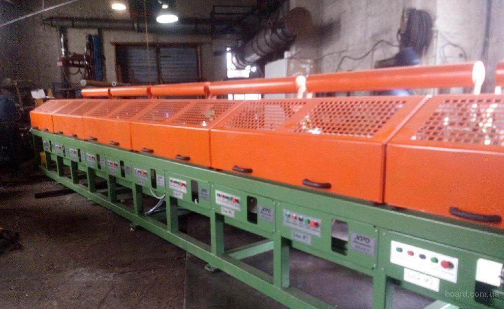 Волочильный стан для производства проволоки ВСМ-550