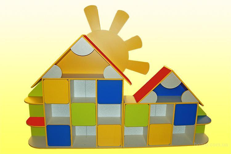"""Стенка детская """"Домик"""", Мебель для детских сада"""
