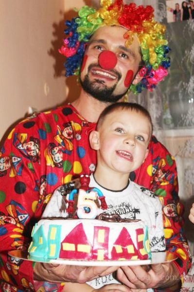 Клоун на детский праздник. Заказать Киев и область