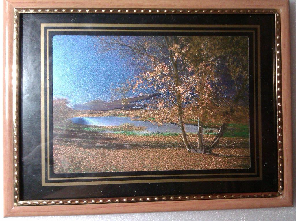 Картины из металлографики в рамке под стеклом размер 20Х15см