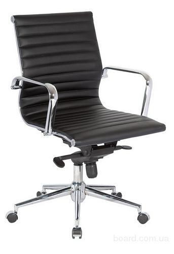 Кресла АЛАБАМА СРЕДНЕЕ черное для компью