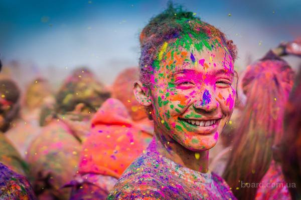 Яркие, безопасные краски Гулал (Холи)