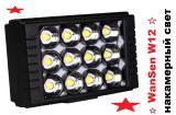 WanSen W12 свет для видеокамеры, накамерный свет, светодиодная видео лампа!