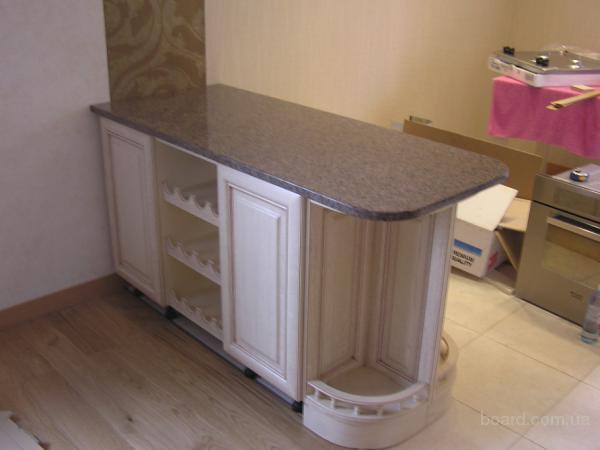Барные столешницы из гранита и мрамора для кухонь —  2 500 грн.
