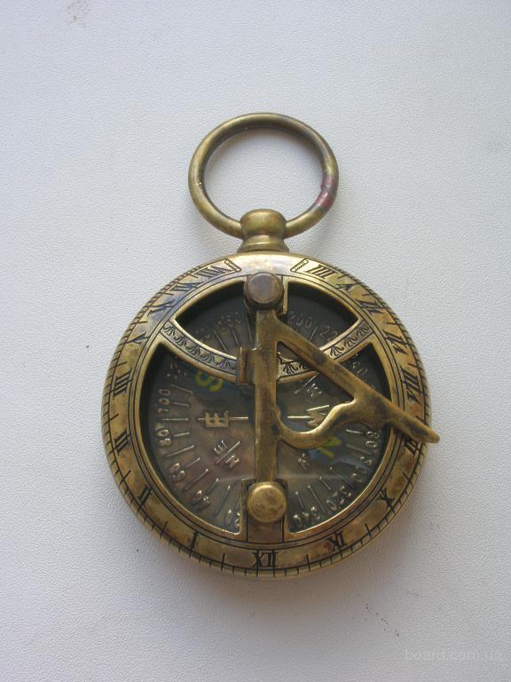 Карманный компас с солнечными часами Ross London