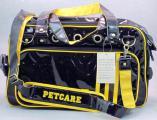 Дорожная лаковая сумка-переноска для кошек и собак мелких пород
