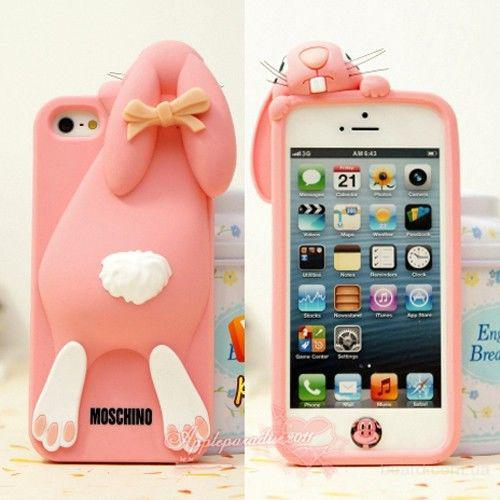 Че�ол для iphone 5c case �е�ол moschino violetta rabbit
