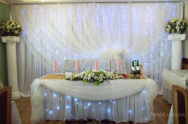 Украшение на свадебный стул