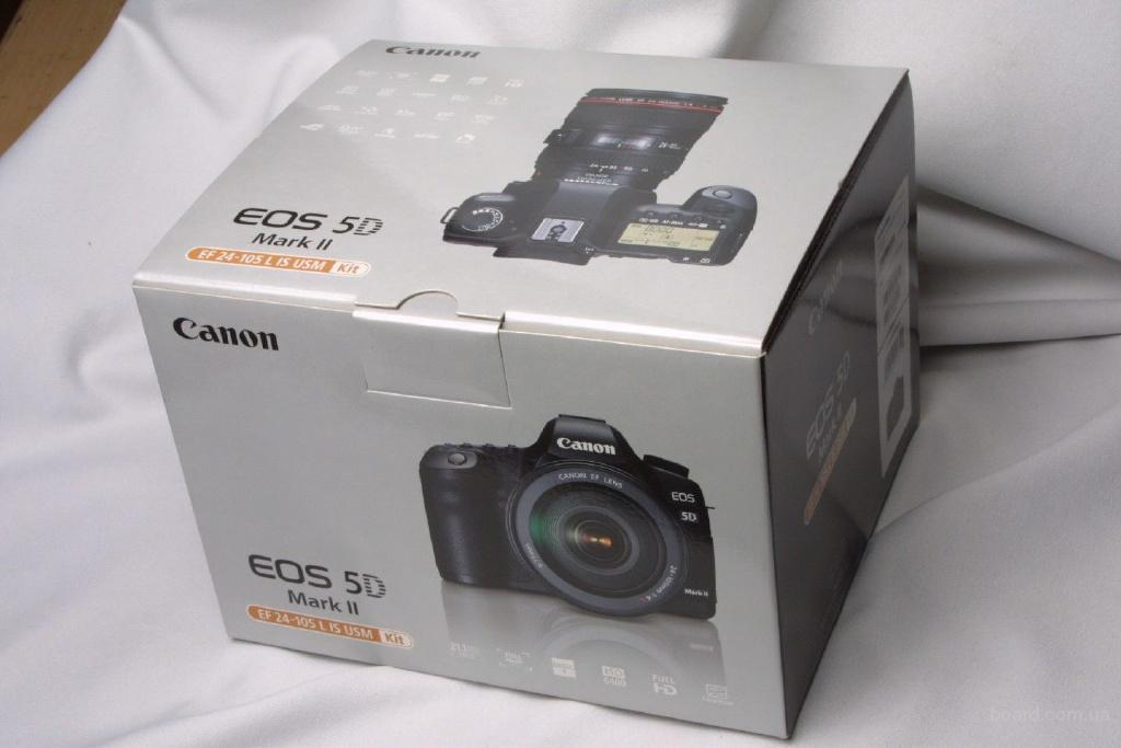 Canon EOS 5D Mark II 21.1 МП цифровая зеркальная камера - черный (комплект ж / EF L IS USM ...