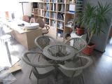 Комплект мебели искусственный ротанг, мебель для кафе и ресторанов. мебель садовая.