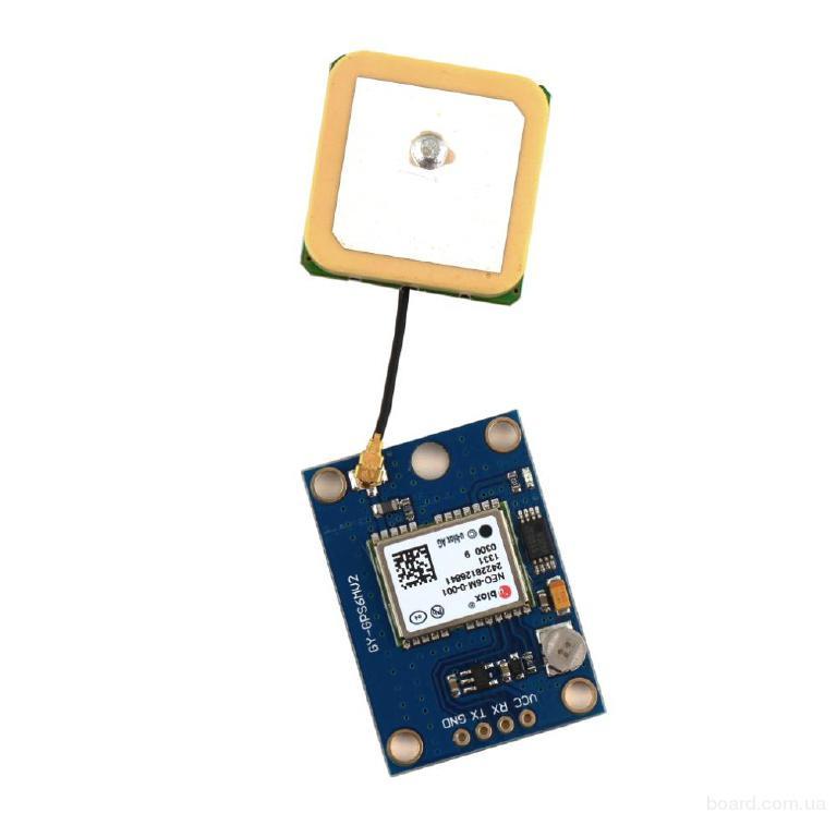 GPS модуль NEO-6M для Arduino AVR PIC ARM STM
