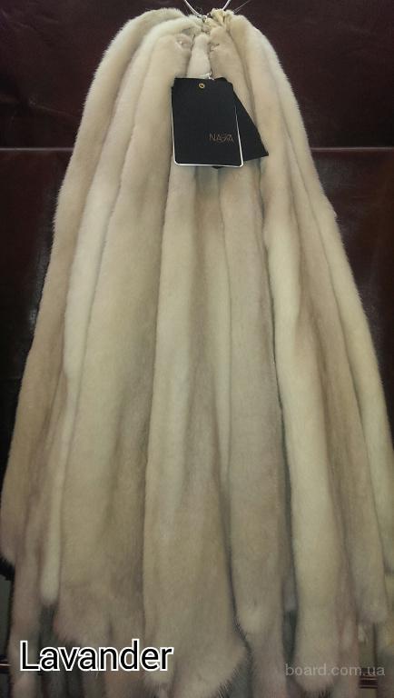 Натуральный мех норки NAFA Lavander
