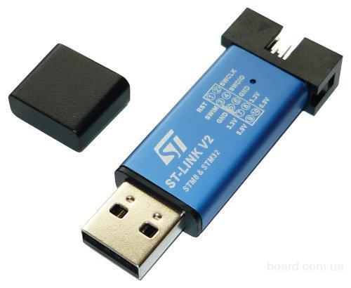 ST-Link V2 программатор STM8 STM32