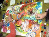 Занятия по арт-терапии и живописи