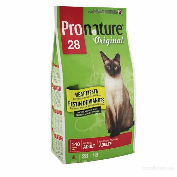 Корм для кошек Pronature Original (Пронатюр Ориджинал) Мясная фиеста